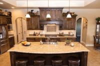 Ornamental Granite Countertops - Kitchen - Large Island ...