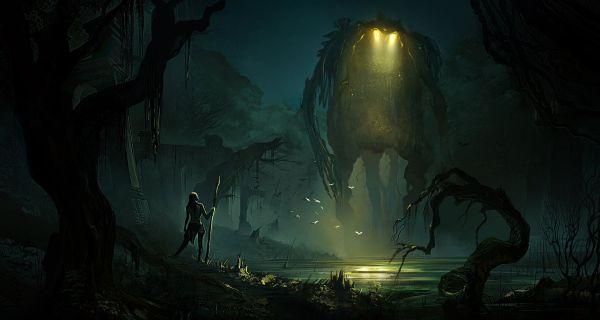 Artstation - Swamp Adversaries Jonathan Guzi