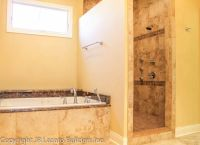 Like the walk in shower with no door | Master Bathrooms ...