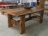 Reclaimed barn wood furniture | Tables and chairs ...