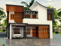 House with Parapet Walls Designs