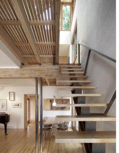 Loft stairs also residence by paul bernier architecte architecture rh pinterest
