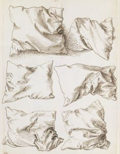 Had to copy this in drawing college six studies of pillows verso pen  brown ink on paper albrecht durer metropolitan museum art also and rh pinterest
