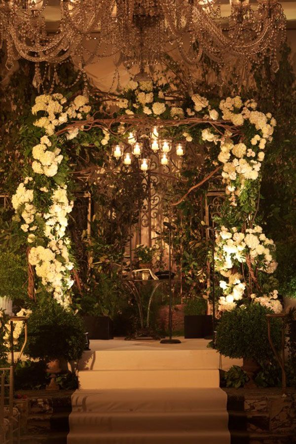 Beautiful Branches Arch Garden Wedding Secret Garden Wedding