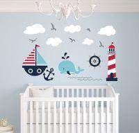Nautical Paintings For Nursery ~ TheNurseries