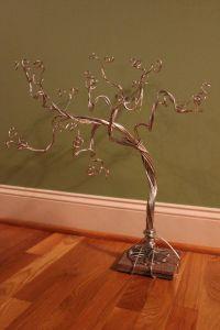 Jewelry Tree Stand Necklace Organizer Bracelet Display ...