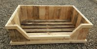 Dog bed from an old pallet   Dog Beds   Pinterest   Dog ...