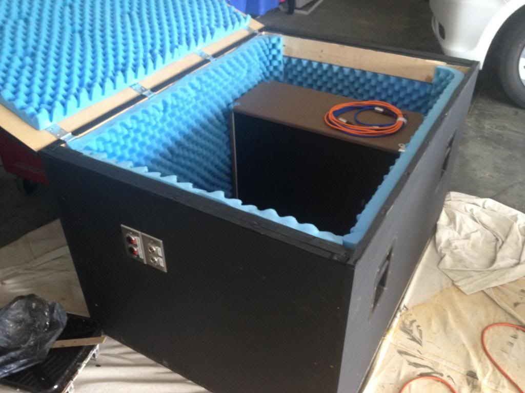 Guitar Amp Sound Isolation Cabinet Cabinets Matttroy