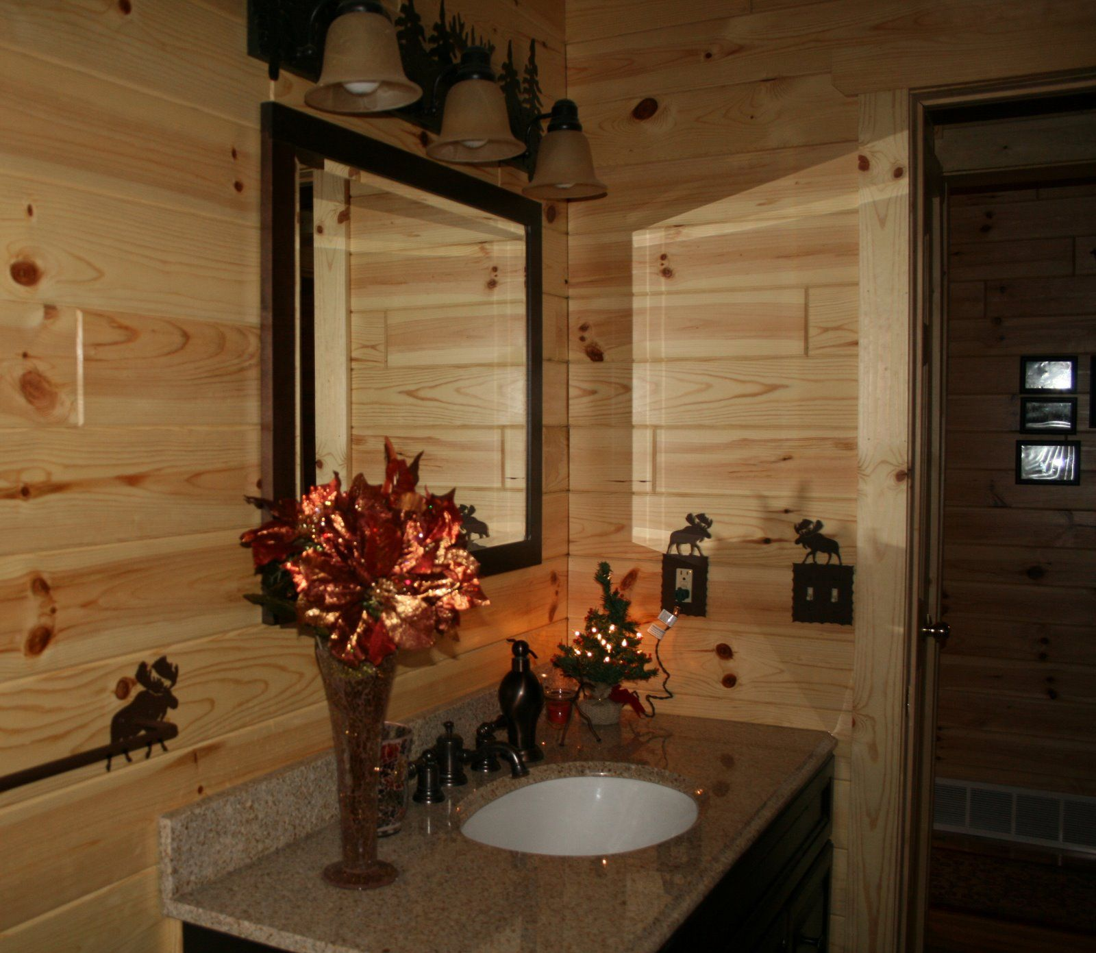Ideas for bathroom decorating theme with simple and natural wooden wall decor also rh pinterest
