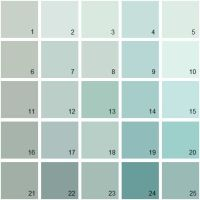 Benjamin Moore Blue House Paint Colors - Palette 01 1 ...