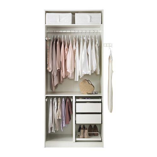 PAX Garderobekast   zachtsluitende scharnier  IKEA