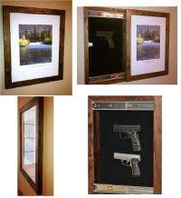 Hidden Gun Storage   GunBureau: The Hidden Gun Cabinet ...