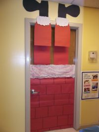 Christmas decoration for classroom door | Winter ...
