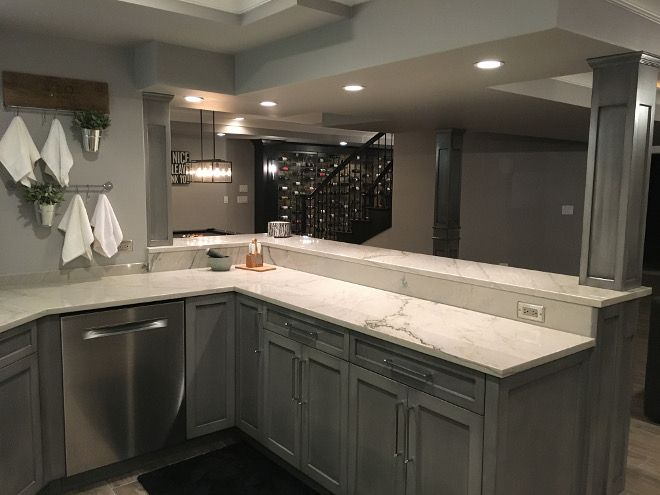 Grey Bar Cabinet Beautiful Homes Of Instagram Sumhouse