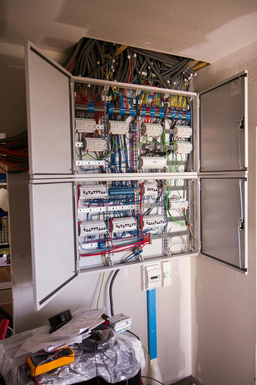 Lighting Wiring Diagram House Tableau Knx Net Cable Page Pinterest Website And Arduino
