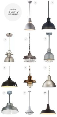 farmhouse industrial hanging pendant lights - heirloom way ...