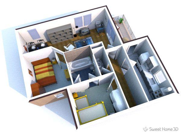 Sweet Home 3D απαραίτητο στην διακόσμηση! Πράσινη γη των