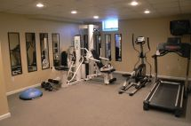 Weight Room Home Gyms Basement Gym And