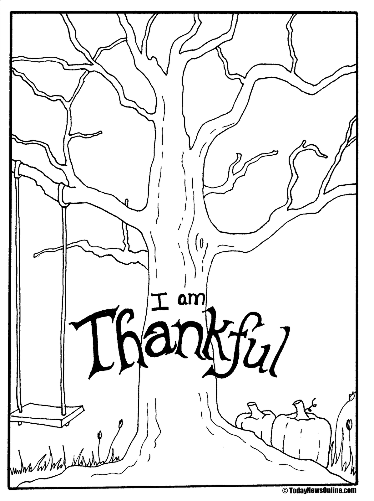 LDS Activity Day Ideas: Thanksgiving Tree