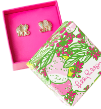 Lilly Pulitzer Elephant Critter Earrings | Fashion ...