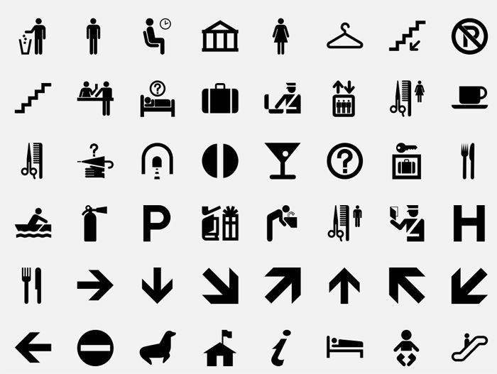 Symbols of Our Language highly recognizable symbols