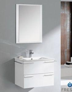 Fresca cielo inch white modern bathroom vanity with mirror home depot canada also rh pinterest