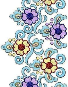 Indian cording lace embroidery design pinterest and designs also rh