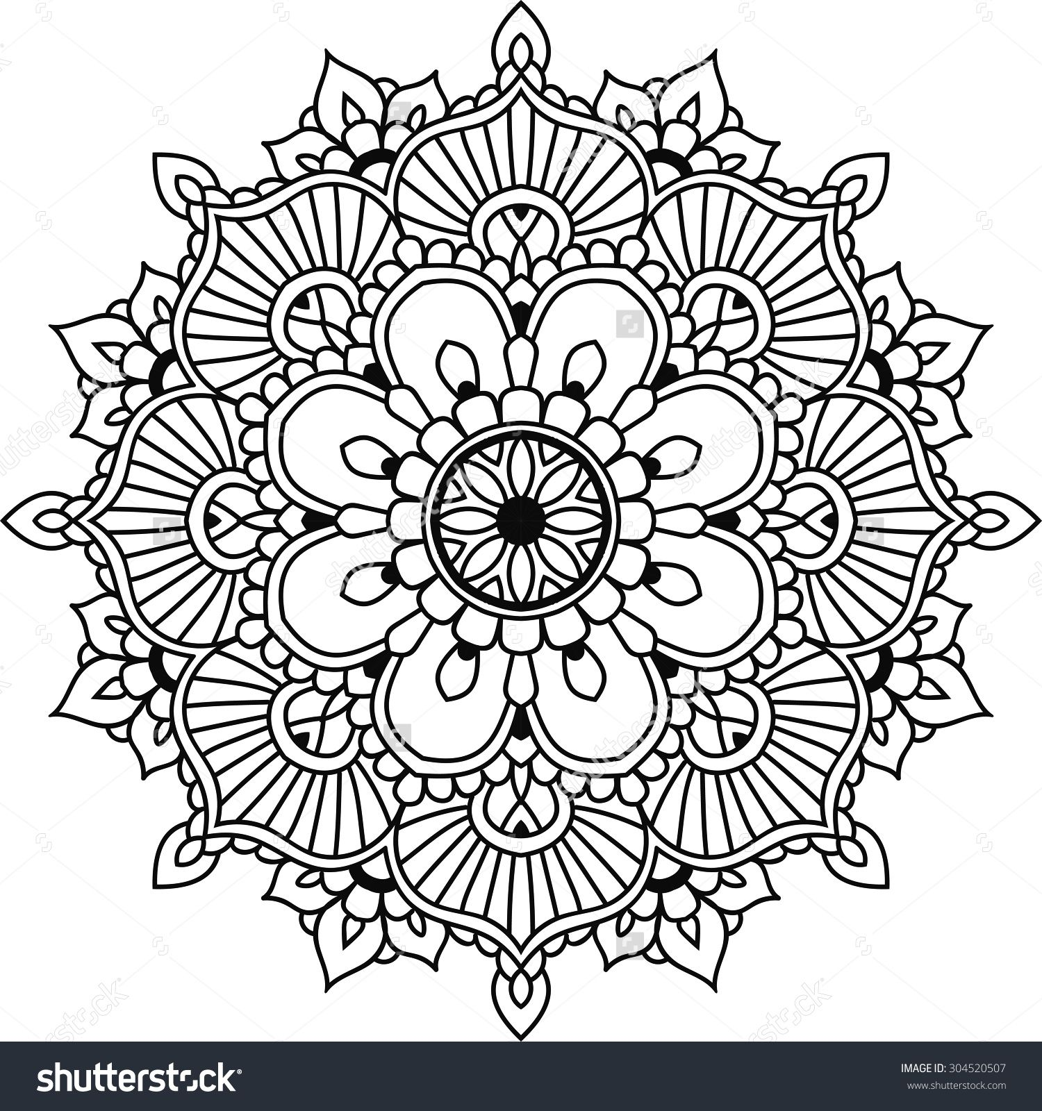Simple Snowflake Coloring Patterns Jpg 1500x1600 Traceable