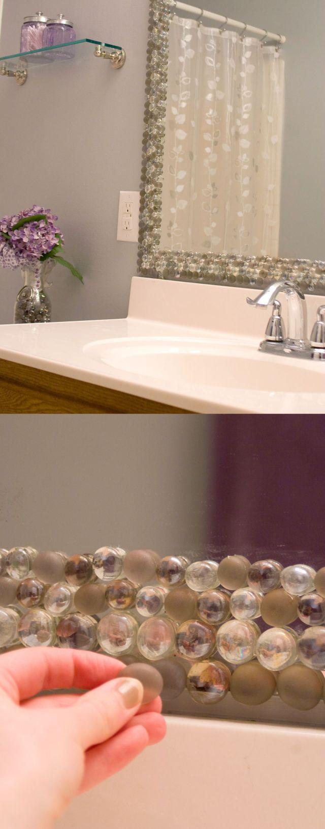 Reformar espelho do banheiro 4 idéias BBB