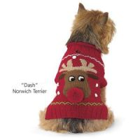 Alpaca Reindeer Sweater - Dog Beds, Dog Harnesses ...