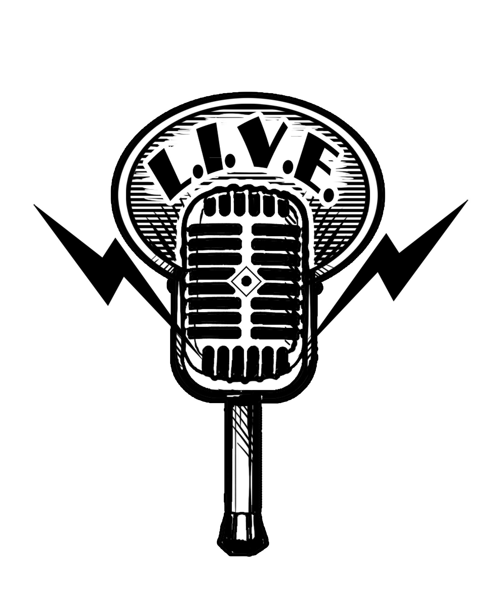 Radio Show Mic Logo Microphone Logo