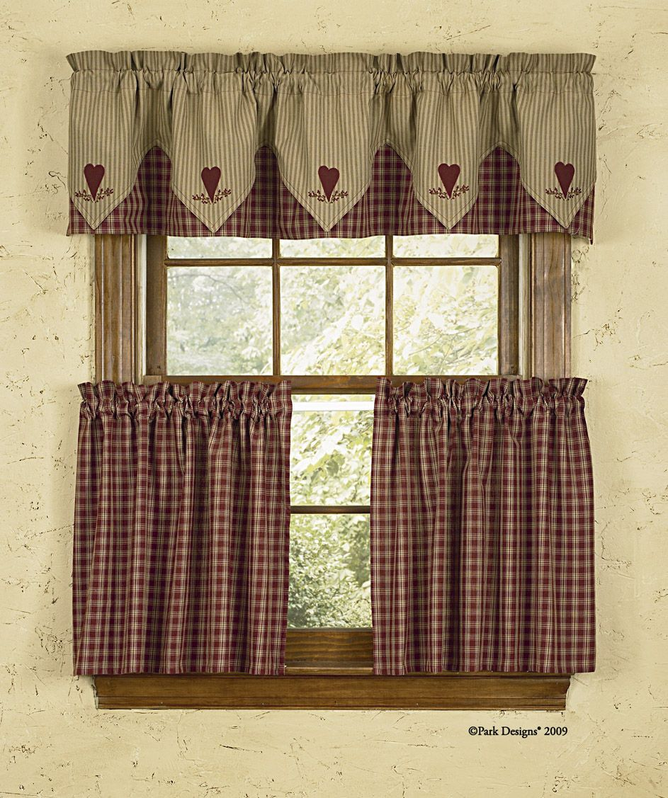 kitchen curtains country garden style  Google Search