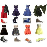 prom dress and converse - Google Search   Prom   Pinterest ...