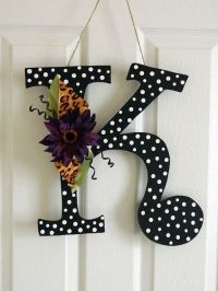 Wooden Letters for Door Decorations