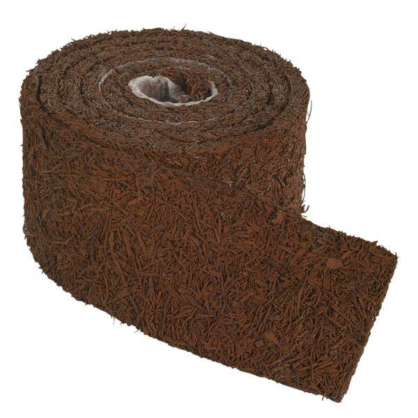 base of pool - perm-mulch