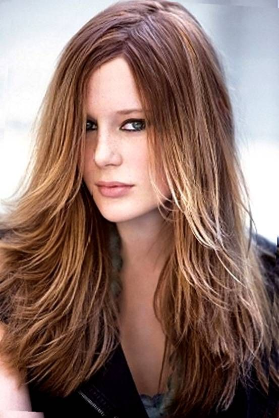 Different Ways To Style A Long Layered Wavy Hairstyle Google