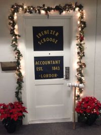 Scrooge, A Christmas Carol, Door Decorations | Crafty ...
