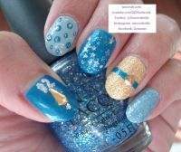 cinderella nail design - Google Search | Inspired by the ...