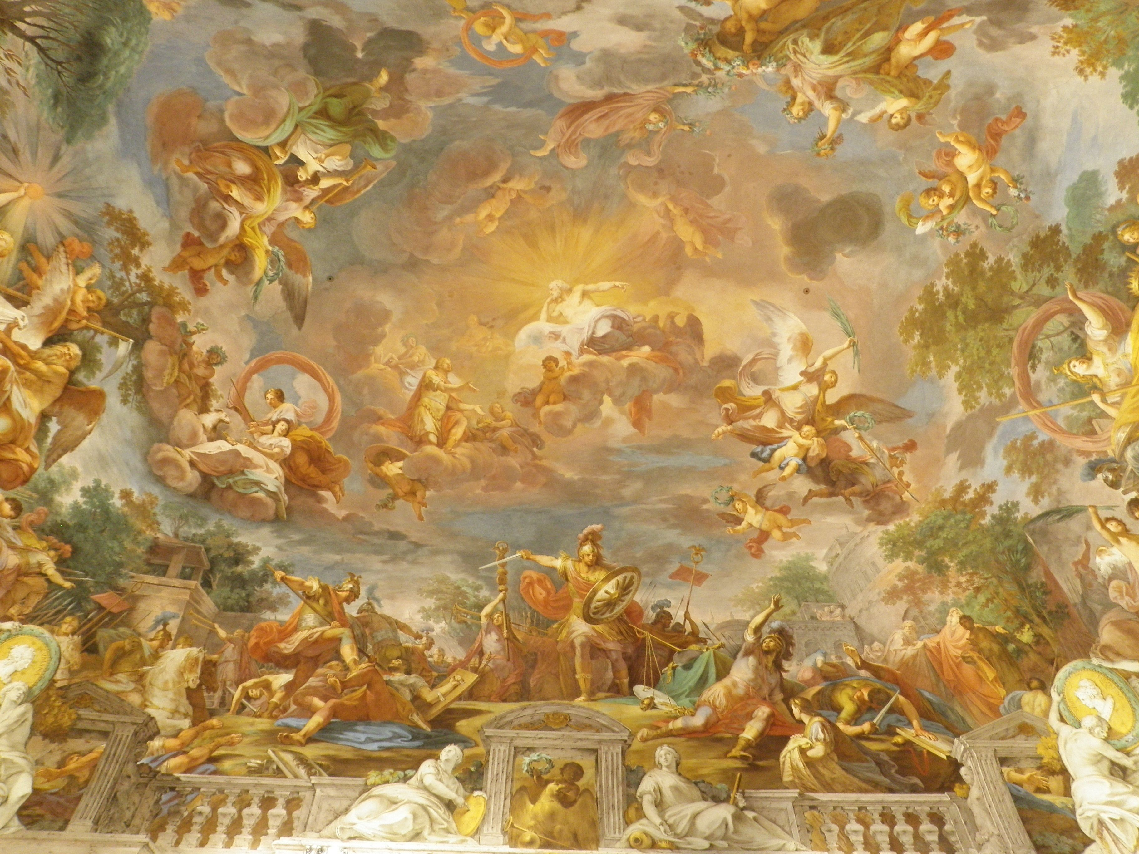 famous painted ceilings