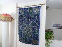 "Ethnic Wall Tapestry. Home decor idea ""Blue Ganges ..."