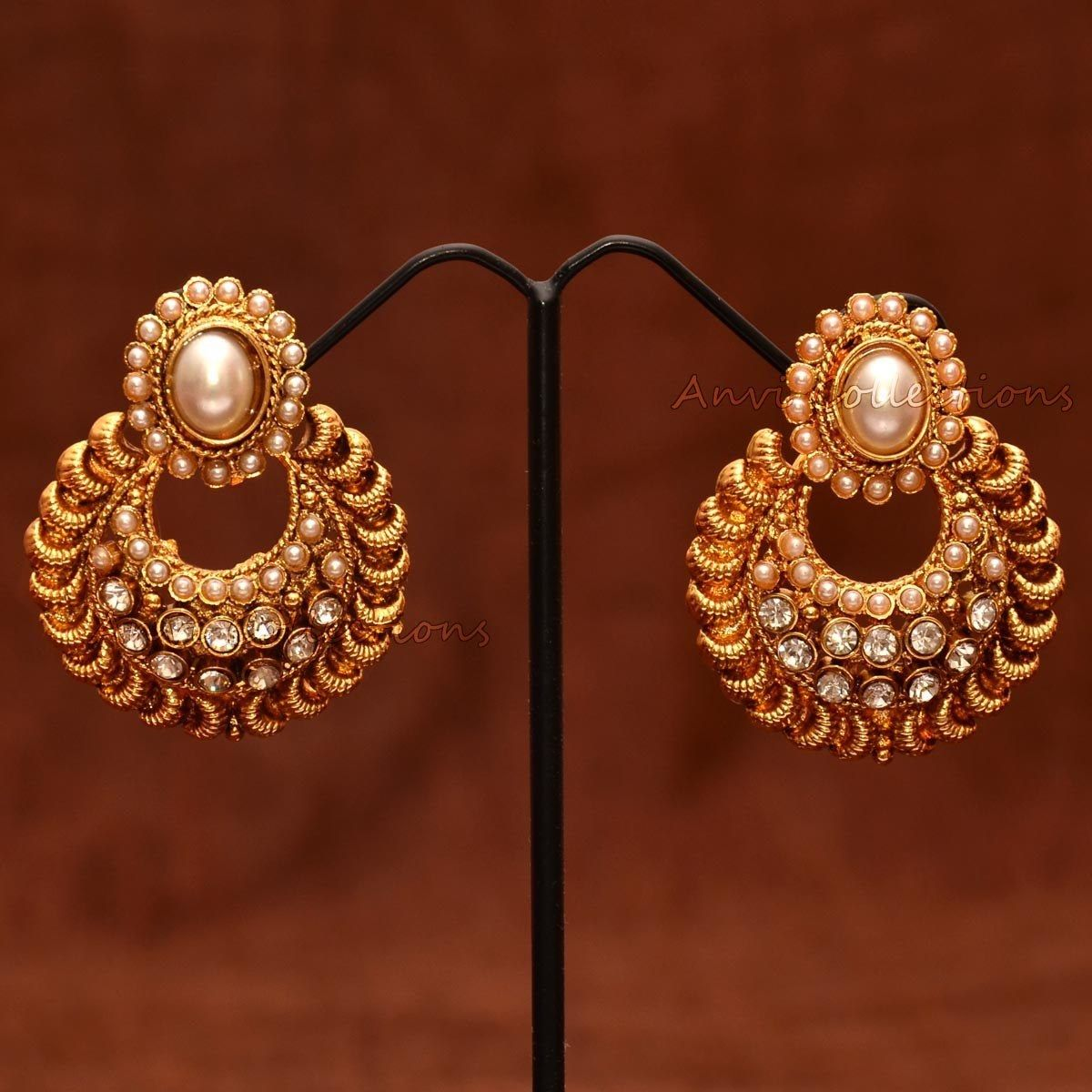 Ram leela chand bali earrings http://a