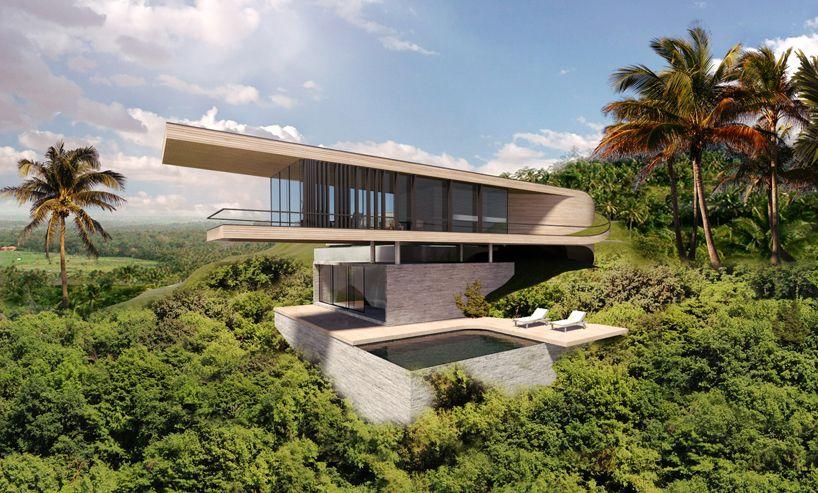 Dymitr Malcew Bali Hill House Architecture Pinterest