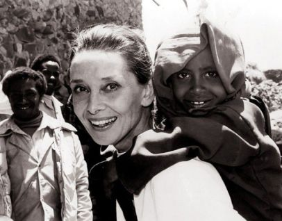 Image result for audrey hepburn and unicef