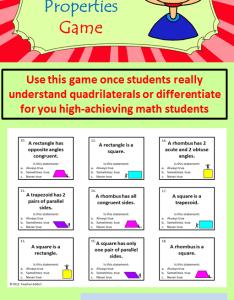 My Homework Helper Lesson 4 Quadrilaterals - valoblogi com