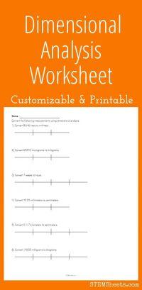 worksheet. Dimensional Analysis Worksheet Answer Key ...