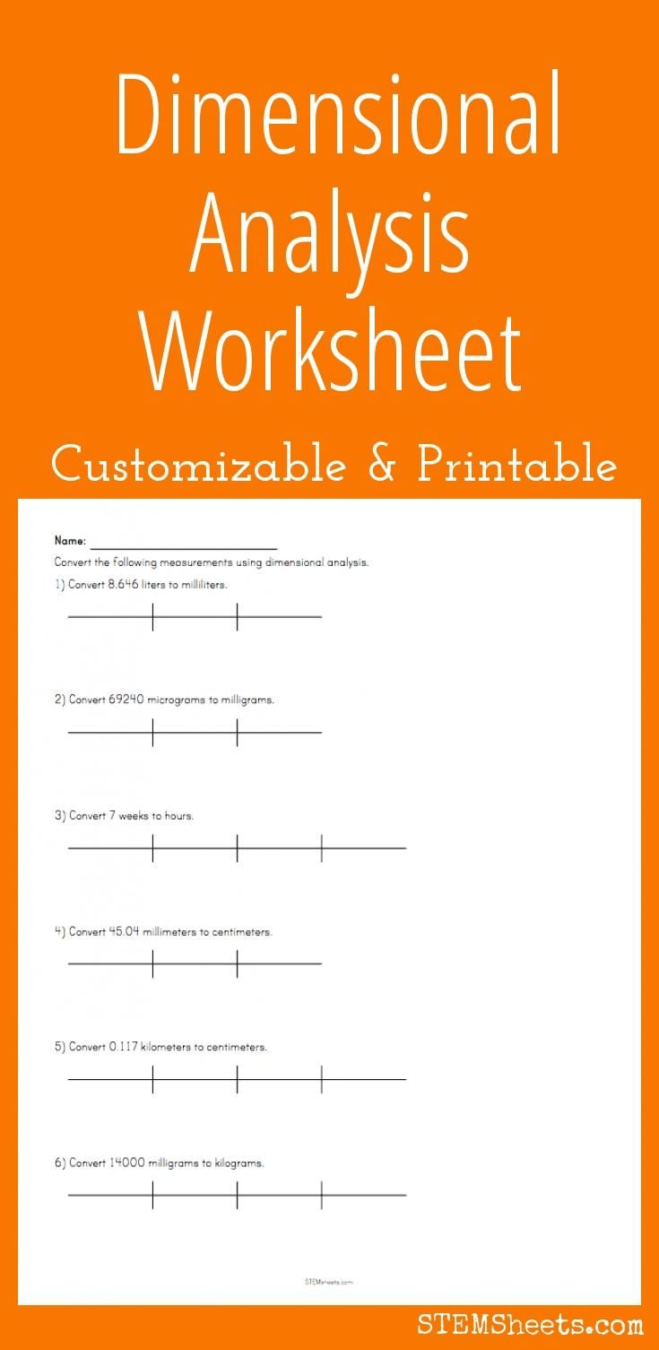 hight resolution of 31 Dimensional Analysis Unit Conversion Worksheet Answers - Worksheet  Resource Plans