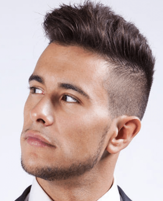 Men's Short Punk Hairstyles Modern Punk Haircut For Men With