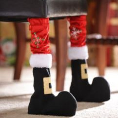 Kirklands Christmas Chair Covers Dinning Table And Chairs Would Be Cute On My Piano Bench. Santa Boot Leg Cover, Set Of 2 | Kirkland's ...