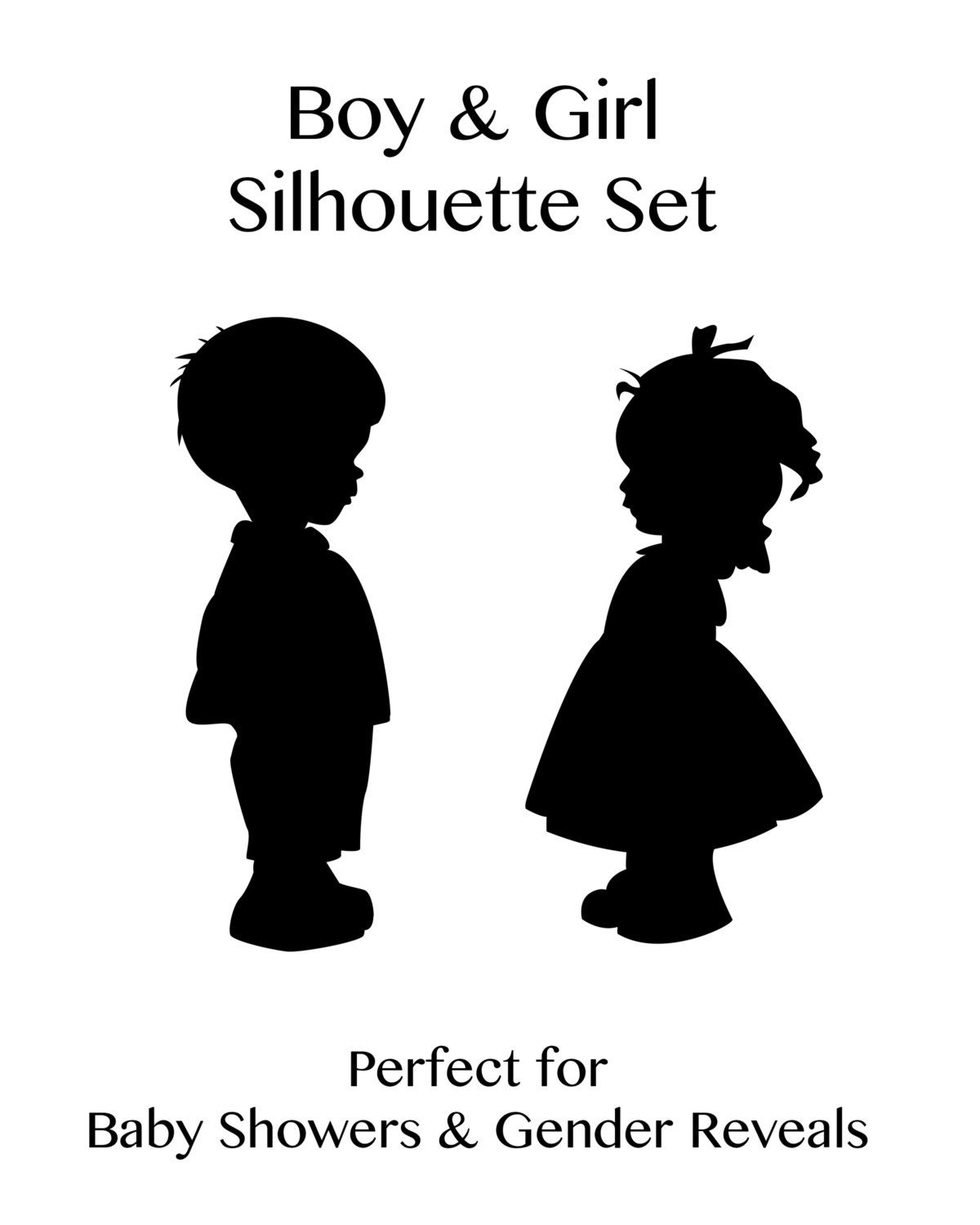 Popular Items For Girl Silhouette On Etsy