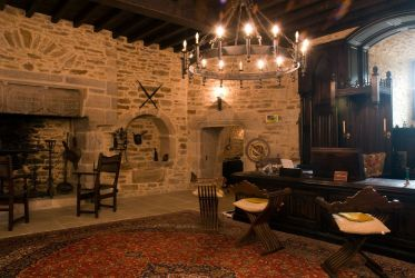 medieval castle castles fireplace bedroom rooms interiors estate french modern room interior living hearth inside france exterior library entrance luxury